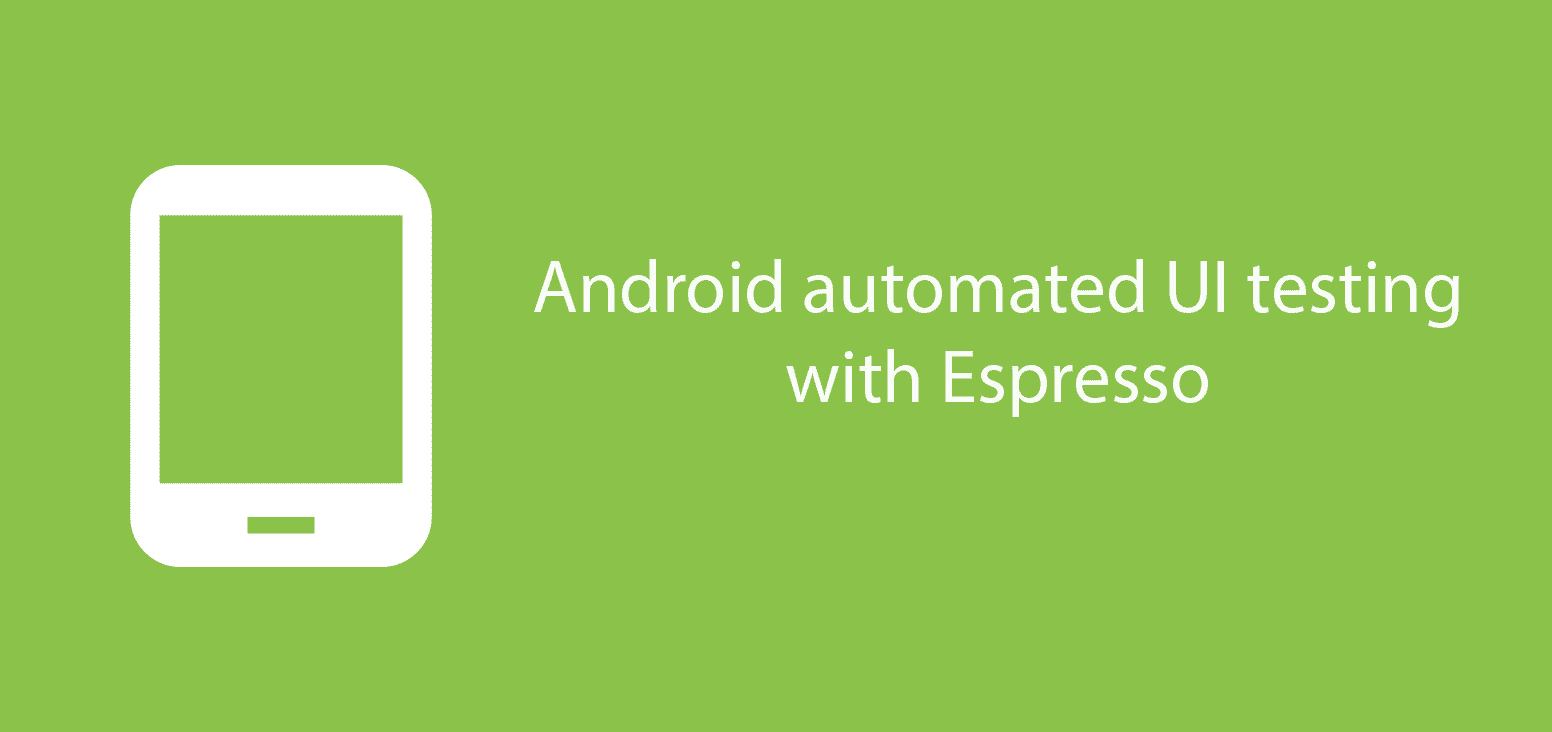 Espresso UI testing and    open drawer image button click